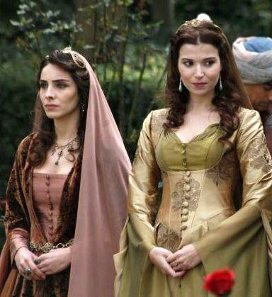 Muhtesem Yuzyil Dress,Hatice Sultan, Mahidevran Sultan