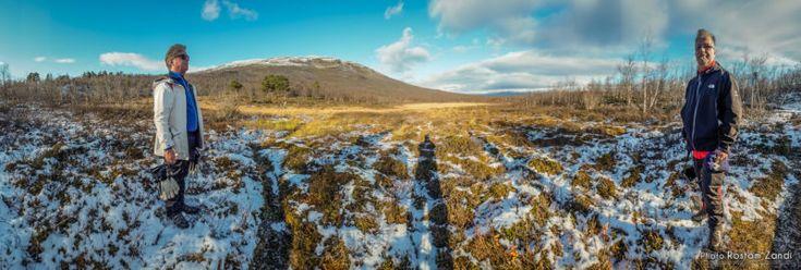Abisko National Park  111015 Abisko National Park Photo: Rostam Zandi.  Three very happy photographers!   #Landscape #landscapephotography #Photography #Kiruna #Adventure #Norrbotten #Norrland #Lappland #Lapland #Laponia #SwedishLapland #OurLapland #Polar #AbovePolarCircle #ArcticLight #Wilderness #Wildsweden #SwedishNature #Clouds #Abisko #Mountains #fjäll #Abiskonationalpark #landscape_captures #ourplanetdaily #landscapehunter #naturediversity #landscapelovers #allnatureshots…