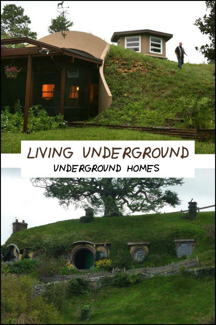 Best Underground Homes Ideas On Pinterest Underground Living - Unforgettable underground homes