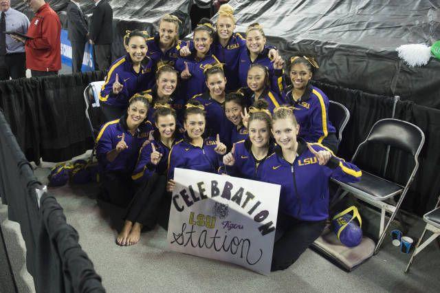 LSU Gymnastics: 2016 NCAA Athens Regional Champions