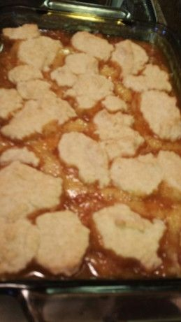 Wonderful Apricot Cobbler