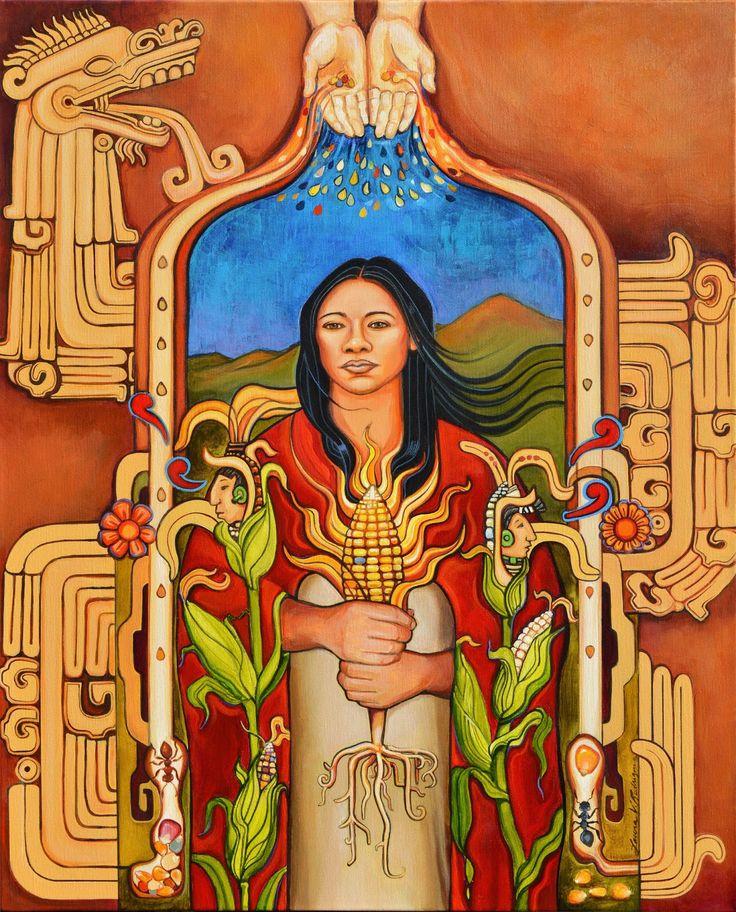 La Morenita-La Mujer Grande, Xilonen, Santa Xilonen, La Madre del Maiz, Madre…
