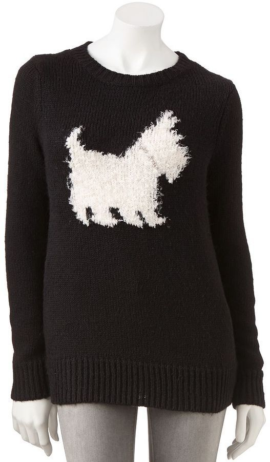 LC Lauren Conrad Dog Sweater. So cute! Wish they made it in kids!