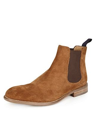 Suede Chelsea Boots | M&S