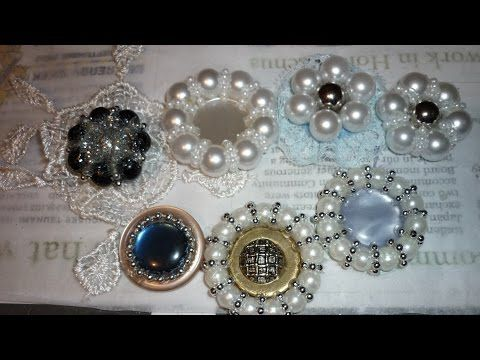 DIY - MAKE YOUR OWN PEARL FLOWERS - YouTube