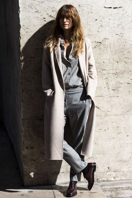 Французский стиль в одежде женщины. Фото звезд