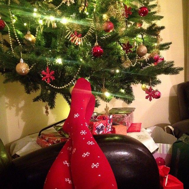 Virivee's Snowflake tights! :O