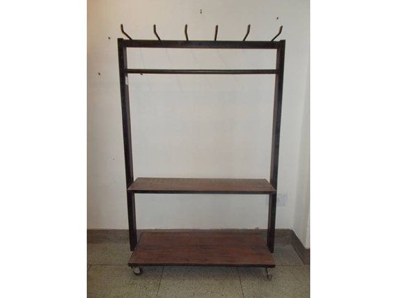Hey, I found this really awesome Etsy listing at https://www.etsy.com/listing/182444365/industrial-furniture-iron-n-wood