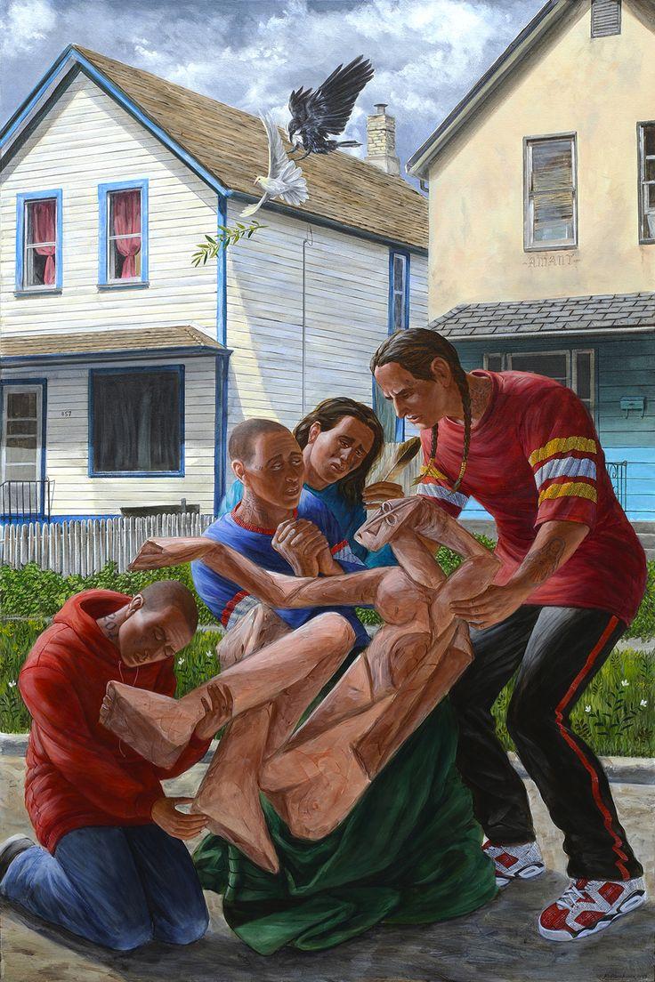 Kent Monkman Canadian artist