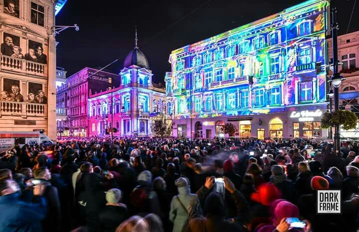 Łódź Poland Light Move Festival