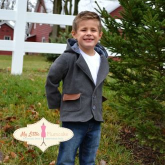 Blazer Sewing Pattern - The Canaan's Incredible Blazer, Boy Sewing Pattern, Girl Sewing Pattern | YouCanMakeThis.com