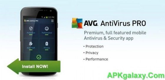 Mobile AntiVirus Security PRO v3.4.3 Apk Android