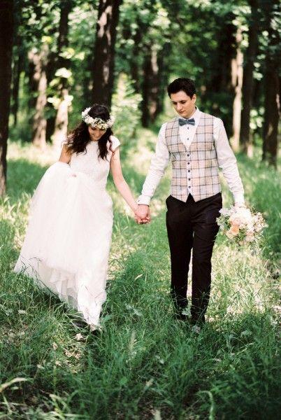 Bride and groom :)  Photo: Beloved - Dósa Győző