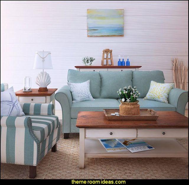 Decorating Theme Bedrooms Maries Manor Seaside Cottage Decorating Ideas Coastal Living Living Room