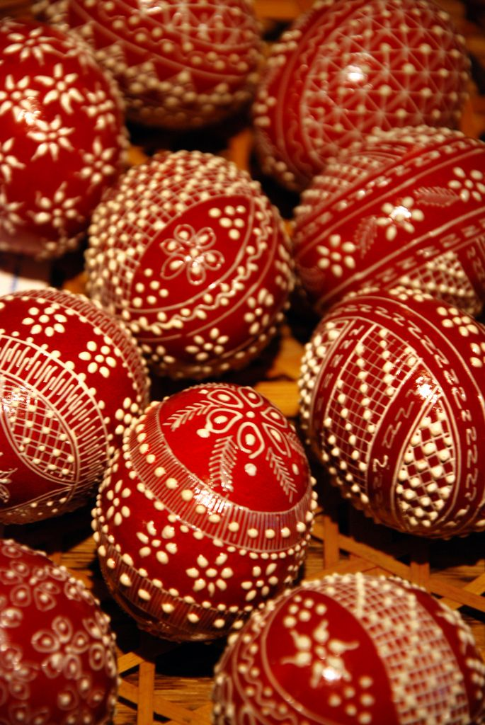 Traditional Romanian Easter painted eggs | by Dragos Cosmin- Getty Images Artist