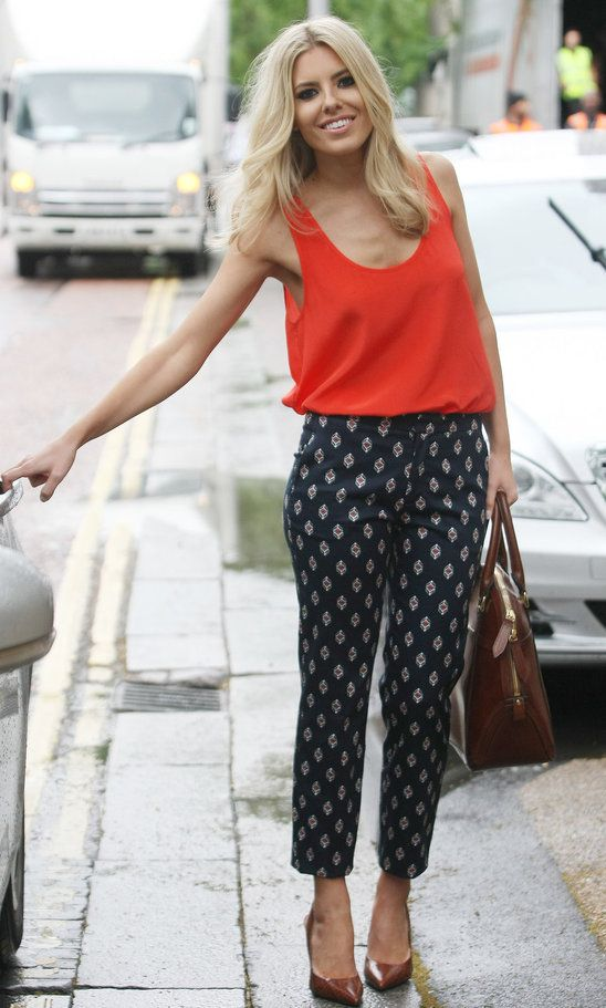 Rosalind from Glasgow loves Mollie King's patterned trousers - http://www.oasis-stores.com/fcp/content/My-Personal-Stylist-booking/content?cm_re=Social-_-Feature-_-MyPersonalStylist