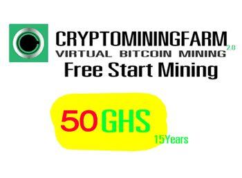 ¿Conoces la minería virtual de cryptomonedas en la nube? Es una manera muy fácil de ver crecer tu dinero. Entra en este enlace para más información y calcular tus beneficios:    https://www.cryptomining.farm/signup/?referrer=5A6D39235C6F0  Ganar dinero en internet - bitcoin - ethereum - mineria - criptodivisas - criptominingfarm