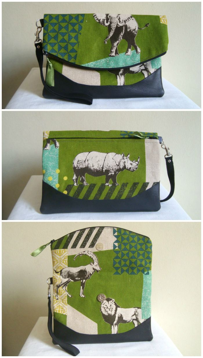 569 Best Diy Bags Images On Pinterest Bag Sewing Patterns Wallets Allegra Green Army Diaper Backpack Free Fold Over Clutch Purse Pattern The Heidi From Swoon