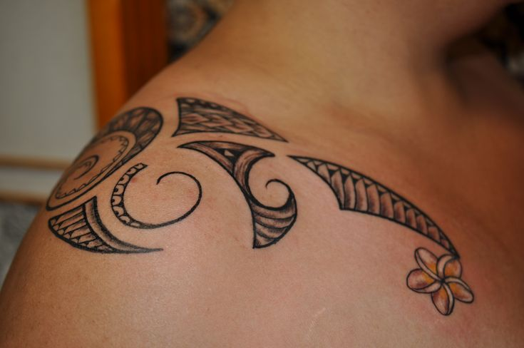 Hawaiian Tattoos For Women | Female Mixed Polynesian Tattoo by Dave Rodriguez