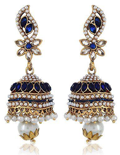 Indian Bollywood White Pearls Stylish Fancy Party Wear Tr... https://www.amazon.com/dp/B01L8I1LHI/ref=cm_sw_r_pi_dp_x_NTK0yb014S2MG