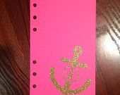 Gorgeous personalized monogram planner inserts for Filofax, Kikki K, Franklin Covey, Erin Condren, Day Planner, etc. at www.etsy.com/shop/chevroncreationsshop