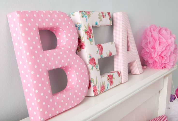 Create your child's name as a piece of wall art with these gorgeous fabric letters.Available in a great range of fabrics and colours to create something unique in your child's bedroom. Each letter is £12. Fabric Heart available in Red Dotty. Please message us if you would like fabric swatches sent. We are discontinuing the Red Dotty fabric, we will not be getting anymore stock of the letters listed as out of stock.These letters consist of a padded wooden frame covered in 100% cotton…