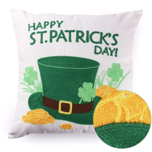 St-Patricks-Day-Decorations-Throw-Pillow-Covers-Embroidered-Lucky-Irish-Hat