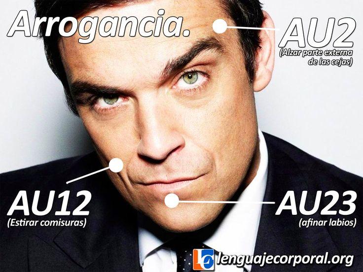Aprender a detectar la arrogancia (con ayuda de Robbie Williams) http://lenguajecorporal.org/como-detectar-la-arrogancia/
