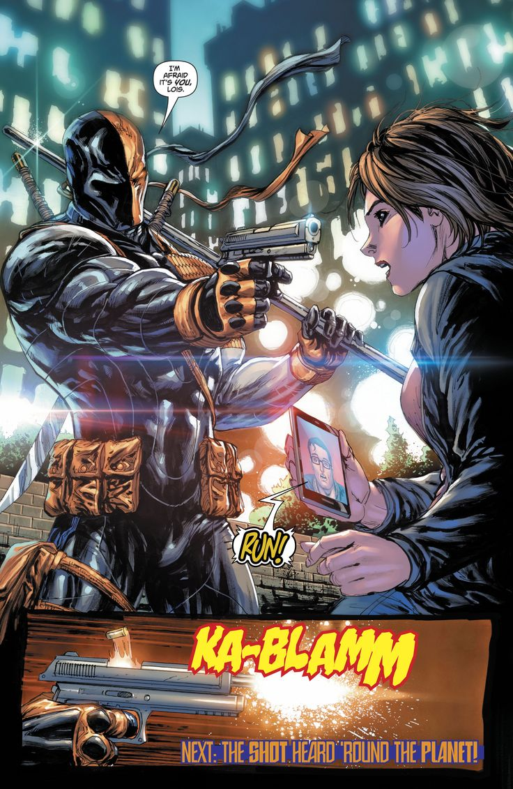 deathstroke, lois lane, superman rebirth  31