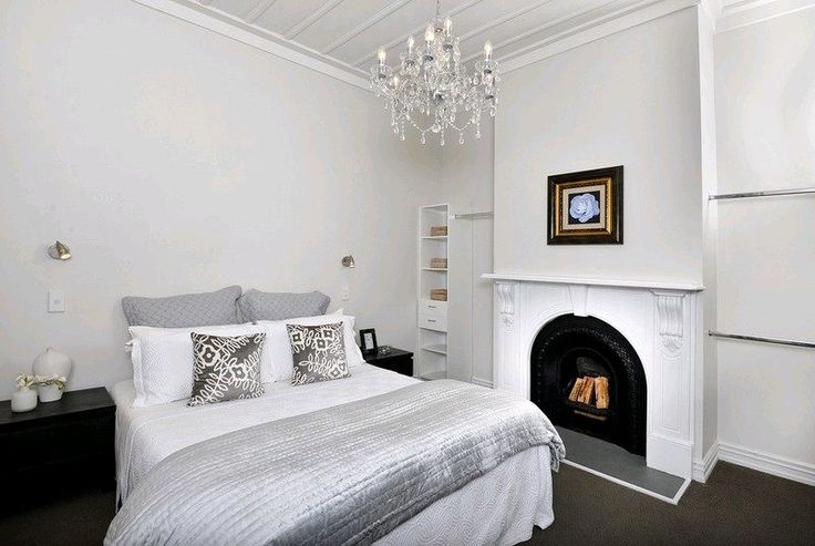 Soft, luxurious, classic master bedroom