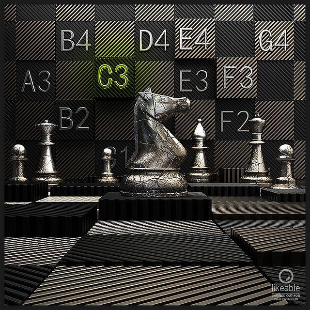#PremiumChess #art #illustration #3Dartwork #3Ddesign #chess #LikeableDesign #chesspieces #chessart ♕ ♔ ♖ ♗ ♘ ♙