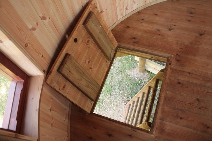 Elements To Include In A Kid's Treehouse To Make It Awesome. Trap Door.