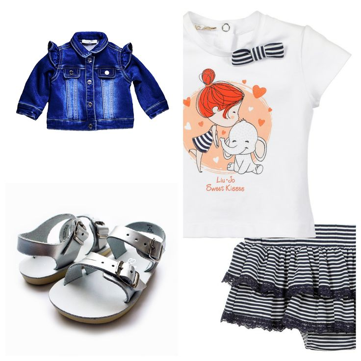 #liujo , #kids , #denim , #sun , #sand & #summer