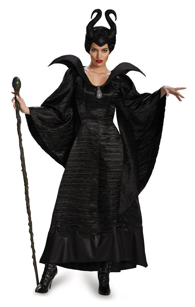 Maleficent Ladies Adult Costumes In 2019 Maleficent