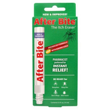 After Bite Insect Bite Treatment, 0.5 fl oz, Multicolor