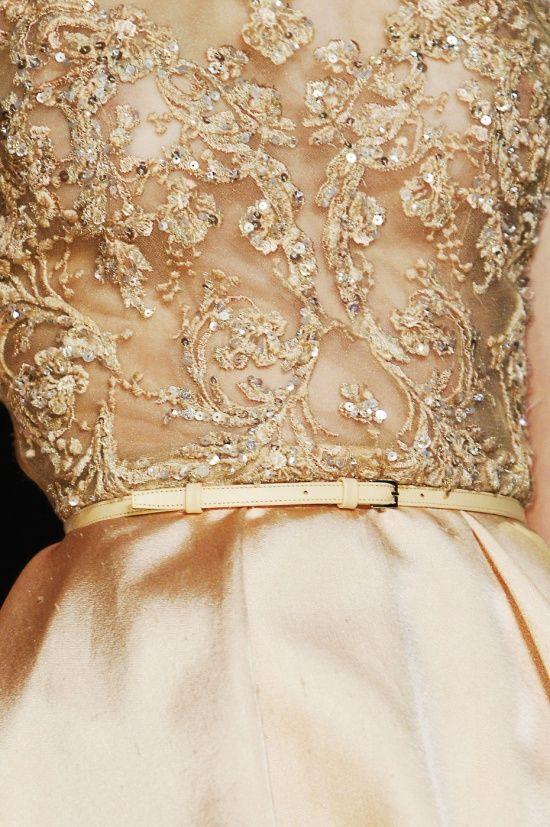 kurkova:  Elie Saab Haute Couture ss13 - Details