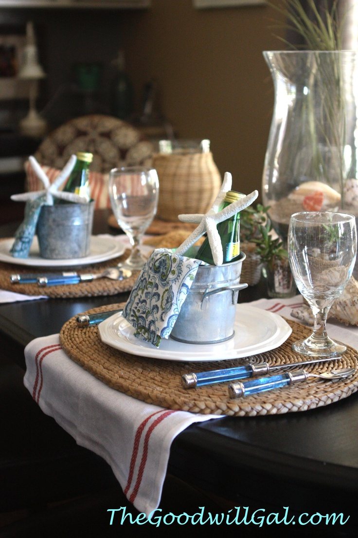 17 Best Images About My Goodwill Tablescapes On Pinterest