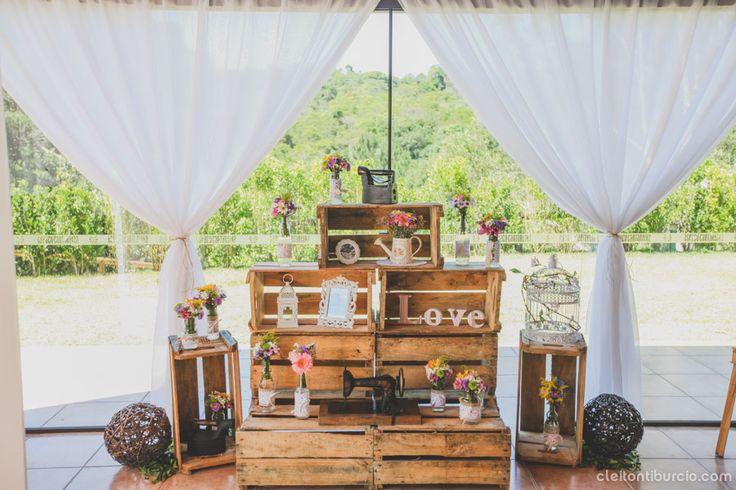 Casamento Rústico e Romântico – Fernanda