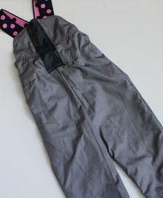 snow bib sewing pattern