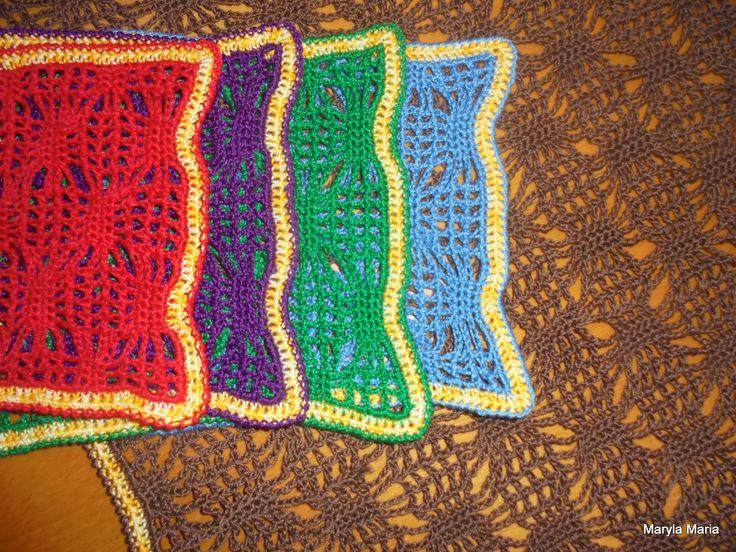 Hobby- my own handkerchiefs / crochet napkins