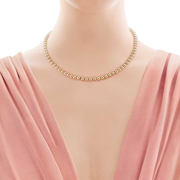Tiffany Beads necklace in 18k gold. | Tiffany & Co.