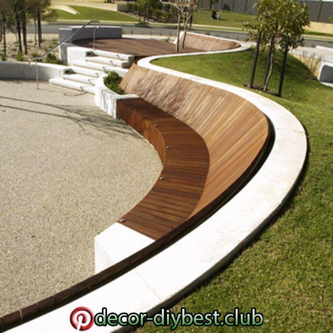 Ландшафтный дизайн бетон семейство бетона