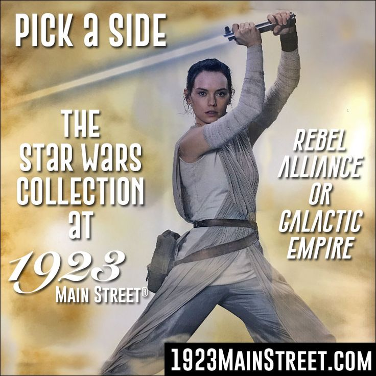 Rebel Alliance or Galactic Empire, which side are you on? https://1923mainstreet.com/collections/star-wars #StarWars #RebelAlliance #GalacticEmpire