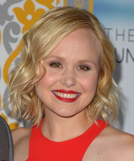 Alison Pill's seriously adorable wedding dress will totally surprise you —LOVE