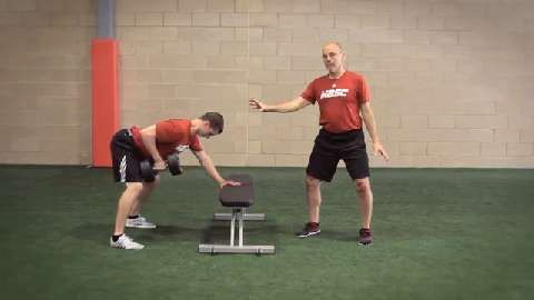 Elite Performance With Mike Boyle: How to Correctly Perform Dumbbell Single-Arm Rows