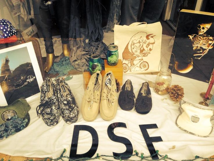 Holiday shopping in San Francisco? Check out one of our favorite local shops DSF Clothing Company on lower Haight St. Apparel, art, jewelry and more..