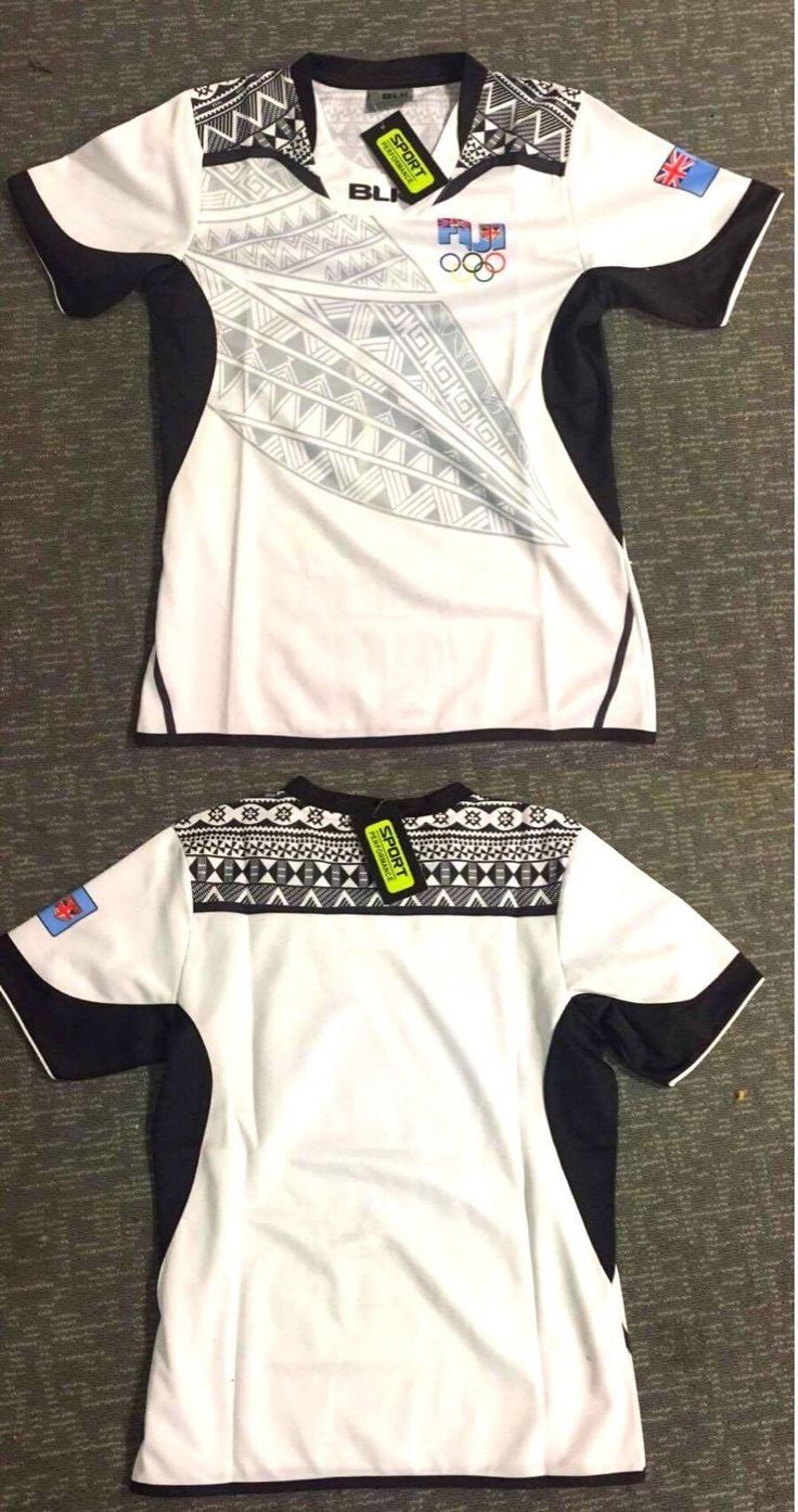 Rugby 21563: Fiji Home Rugby 7S Olympic 2016 Champion Jersey Size S,M,L,Xl,Xxl -> BUY IT NOW ONLY: $75 on eBay!