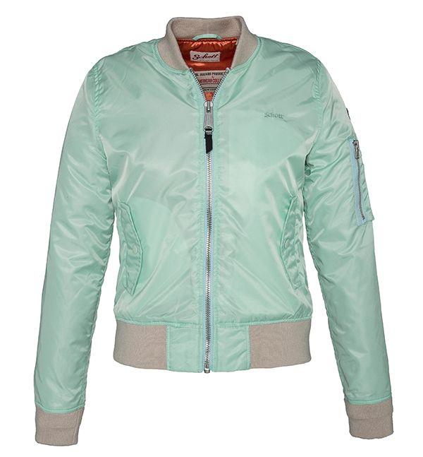 Schott NYC Bomber Jacket in mint