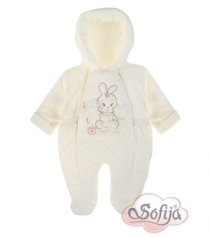 Ciepły pajacyk dla dziewczynki Zolinka www.sofija.com.pl #sofija #pajacyk #kombinezon #dziecko #ubrania #kidsfashion #baby #babymode #kindermode #kinder #ребенок #мода #vaikas #çocuk