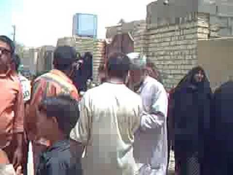 Un aiuto per gli sfollati di Sadr City